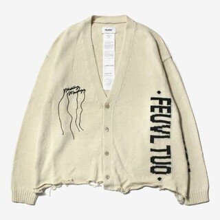 DOUBLE.B - doublet 20SS HIDDEN MESSAGE CARDIGAN