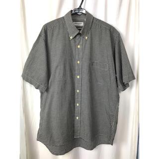 Yves Saint Laurent Beaute - YVES SAINT LAURENT  チェックシャツ  半袖