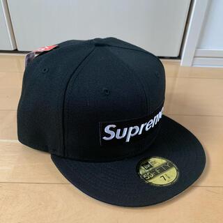 シュプリーム(Supreme)のsupreme Champions Box Logo New Era 7 3/8(キャップ)