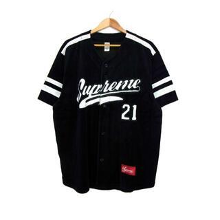 Supreme - シュプリームSupreme■20AWベロアベースボール半袖シャツ