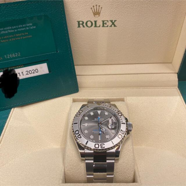 ROLEX(ロレックス)のたわし様 専用 ヨットマスター40 126622  ダークロジウム メンズの時計(腕時計(アナログ))の商品写真