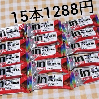 モリナガセイカ(森永製菓)の森永IN プロテインバーベイクドチョコ、15本セット(プロテイン)