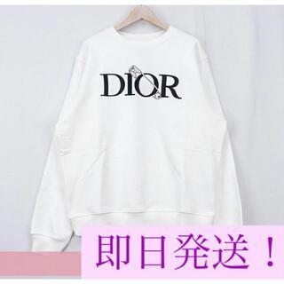 Dior - DIOR AND JUDY BLAME 刺繍入りオーバーサイズトレーナーMサイズ