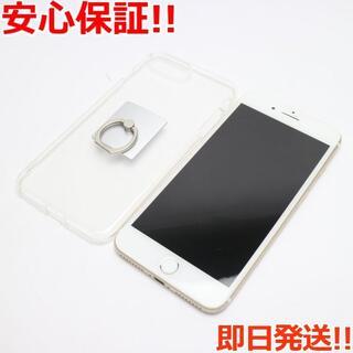 アイフォーン(iPhone)の良品中古 au iPhone7 PLUS 256GB ゴールド (スマートフォン本体)