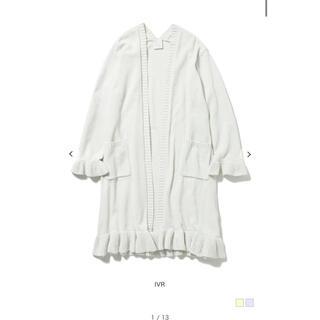 gelato pique - ジェラートピケ 【ミュシャと椿姫】ラメニットロングカーディガン