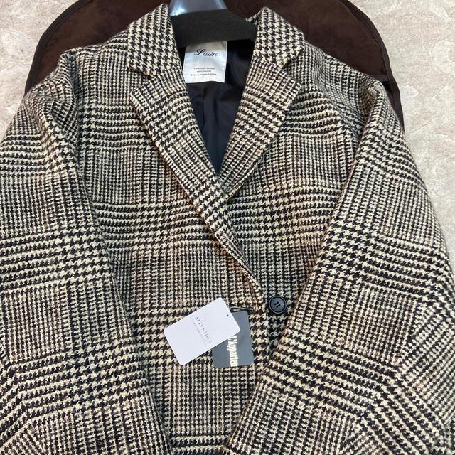 L'Appartement DEUXIEME CLASSE(アパルトモンドゥーズィエムクラス)のアパルトモン Check W Coat レディースのジャケット/アウター(ロングコート)の商品写真