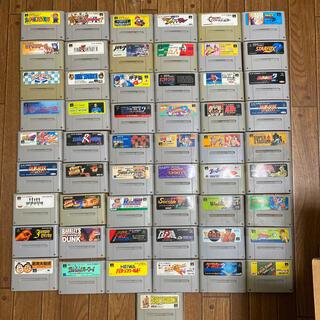 スーパーファミコン(スーパーファミコン)のスーパーファミコンソフト55本(家庭用ゲームソフト)
