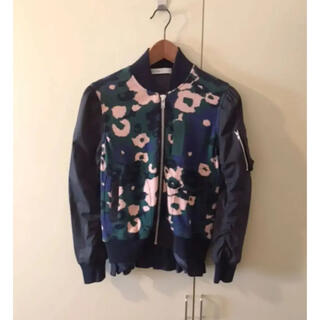 サカイラック(sacai luck)のsacai luckサカイラック花柄ブルゾン裾レース(ブルゾン)