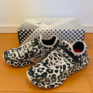 アディダスバイステラマッカートニー(adidas by Stella McCartney)のアディダス ステラマッカートニー スニーカー ヒョウ柄 24.5センチ 新品(スニーカー)