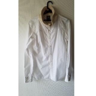 ミハラヤスヒロ(MIHARAYASUHIRO)のMIHARAYASUHIRO/白のデザインシャツ(シャツ)