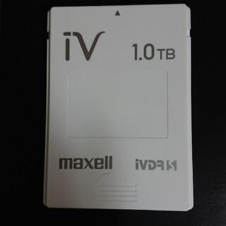 マクセル(maxell)のiVDR-S 1.0TB iV ハードディスク 1TB(その他)