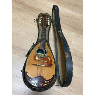 国島マンドリン6411ハードケース付kunishimaギター演奏部活クラブ弦楽器(マンドリン)