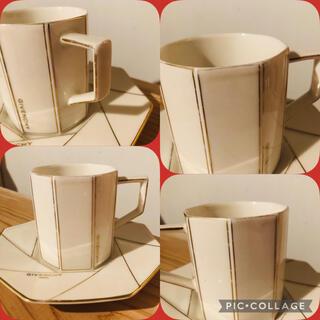 ジバンシィ(GIVENCHY)のGIVENCHY(ジバンシー)コーヒーカップ&ソーサー 2セット(グラス/カップ)