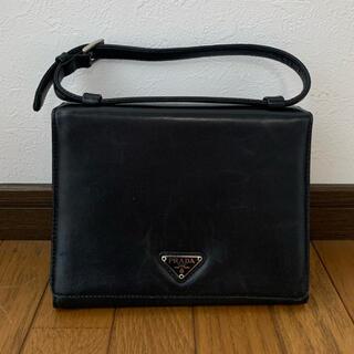 PRADA - PRADAプラダ ハンドバッグ ブラック