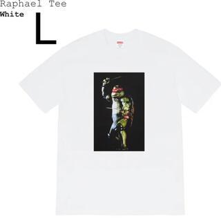 シュプリーム(Supreme)のLサイズ Supreme Raphael Tee White ラファエル 白(Tシャツ/カットソー(半袖/袖なし))