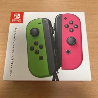 ニンテンドースイッチ(Nintendo Switch)のJoy-Con ネオングリーン/ネオンピンク(その他)