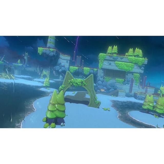 Nintendo Switch(ニンテンドースイッチ)の スーパーマリオ 3Dワールド + フューリーワールド  エンタメ/ホビーのゲームソフト/ゲーム機本体(携帯用ゲームソフト)の商品写真