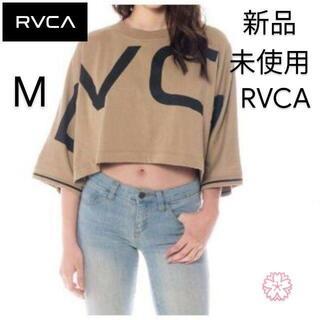 ルーカ(RVCA)の即日発送 RVCA ロンT レディース クロップド丈 ショート丈(Tシャツ(長袖/七分))
