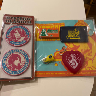 HYSTERIC GLAMOUR - hysteric glamour ゴム製コースター&いろいろ