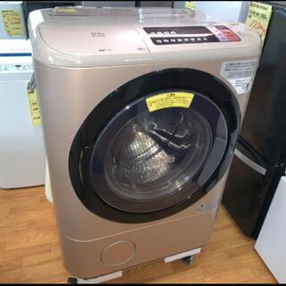 日立 - (洗浄・検査済)日立:ドラム式洗濯機 12/6kg 2017年製