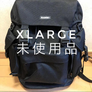 XLARGE - XLARGE リュック 黒 ユニセックス