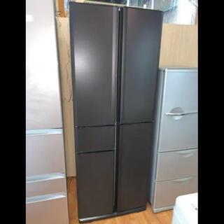三菱 - (洗浄済)三菱:冷蔵庫 405L 2011年製【名古屋市内配送無料】