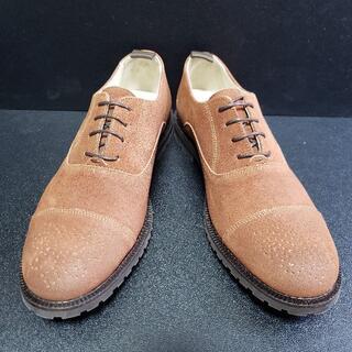 ロイヤルリパブリック(ROYAL REPUBLIC)革靴 茶 42