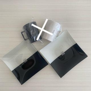 ジバンシィ(GIVENCHY)の【未使用】GIVENCHY ペアマグカップ & ガラスプレート モノトーン(食器)