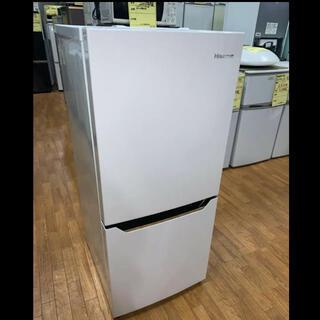 (洗浄済)ハイセンス:冷蔵庫 130L 2019年製(冷蔵庫)