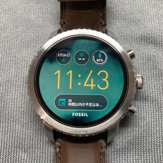 フォッシル(FOSSIL)のFOSSIL EXPLORIST Gen3 フォッシル スマートウォッチ(腕時計(デジタル))