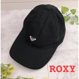 Roxy - 【ROXY】ロキシー*帽子*キャップ*レディース*黒*ブラック*コットンキャップ