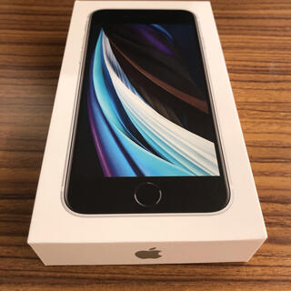 iPhone - 【新品未使用 iphoneSE 64GB simフリー ホワイト 白】
