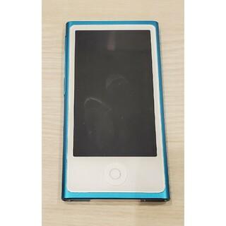 アイポッド(iPod)のiPod nano 第7世代 16G ブルー(ポータブルプレーヤー)
