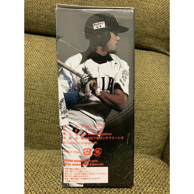 千葉ロッテ 福浦和也選手 ボブルヘッド人形 スポーツ/アウトドアの野球(記念品/関連グッズ)の商品写真