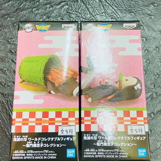 バンプレスト(BANPRESTO)の鬼滅の刃👘ワールドコレクタブルフィギュア👘2番&3番👘2体set(アニメ/ゲーム)