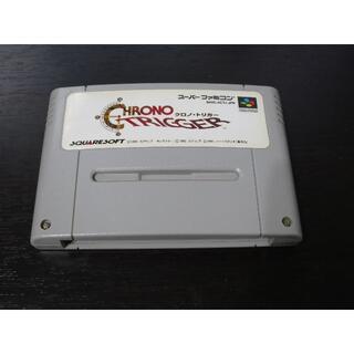 スーパーファミコン(スーパーファミコン)のSFC クロノ・トリガー 【電池交換済み】(家庭用ゲームソフト)