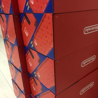 ニンテンドースイッチ(Nintendo Switch)のNintendo Switch マリオレッド×ブルー セット(家庭用ゲーム機本体)