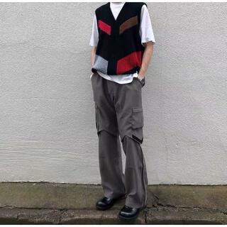 kiko kostadinov bindra cargo trousers 44