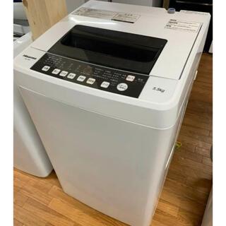 (洗浄済)ハイセンス:洗濯機 5.5kg2017年製(洗濯機)
