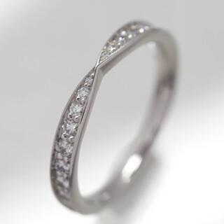 Tiffany & Co. - 質屋出品ui ティファニーハーモニーサークルダイヤリング Pt950 6.5号