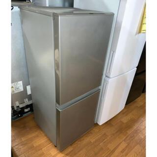 (洗浄済)AQUA:冷蔵庫 126L 2018年製  【名古屋市内配送無料】(冷蔵庫)