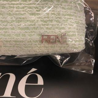 """René - """"新品、未使用"""" ルネ rene ノベルティ ツイード ペンケース"""