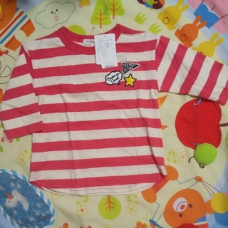 サンカンシオン(3can4on)の110センチ  3can4on  七分袖  Tシャツ(Tシャツ/カットソー)