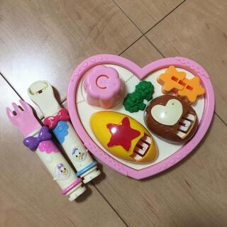 Disney - ドナルド&デイジー おしょくじプレートセット レミン ソラン