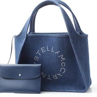 Stella McCartney - ステラマッカートニー デニムロゴバッグ 新品!激安