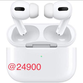 Apple - 25個 新品未使用品 AirPods pro MWP22J/A