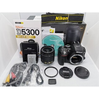 Nikon - ⭐僅か250ショット!⭐WiFi一眼レフ ニコンD5300AF−Pズームキット