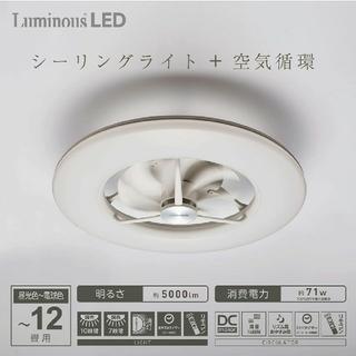 LUMINOUS - 最安値‼️新品未開封 LEDシーリングサーキュレーター DCC-12CM