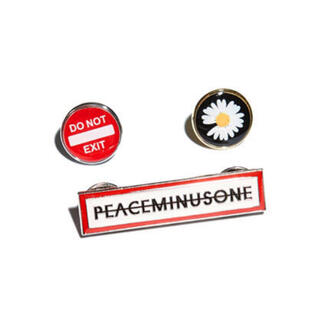 PEACEMINUSONE - PMO PIN SET #2 MULTI