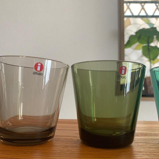 iittala(イッタラ)のイッタラ カルティオ グラス 4個❣️ インテリア/住まい/日用品のキッチン/食器(グラス/カップ)の商品写真